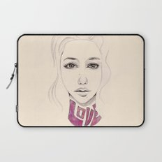 Lover not a Fighter Laptop Sleeve