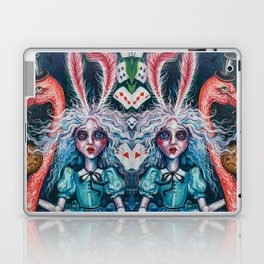 Escape to wonderland Laptop & iPad Skin