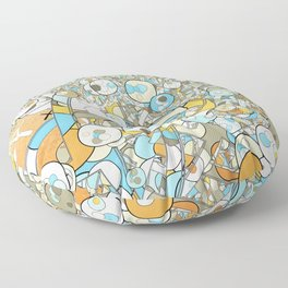 Nested Composition 3 Floor Pillow