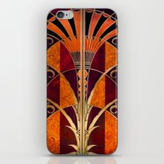 Gold Deco iPhone & iPod Skin