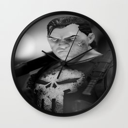 """""""You hit them and they get back up, I hit them and they stay down"""" Wall Clock"""