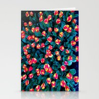 tulips Stationery Cards featuring Tulips by Madison Webb