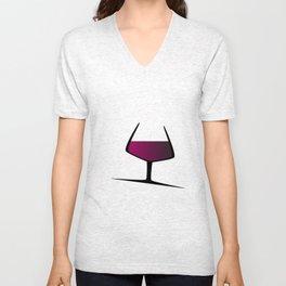 Sparkling Red Wine Unisex V-Neck