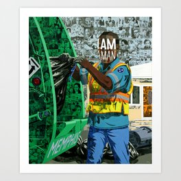 I am, Are you? Art Print