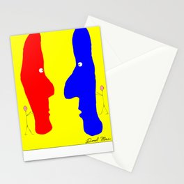 Eye to Eye, a Good Front Stationery Cards