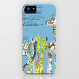 Jx3 Poem - 6 iPhone Case