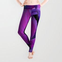 Purple Irises Leggings