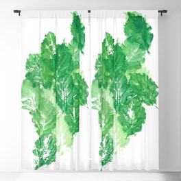 Leaves Dynamics Blackout Curtain