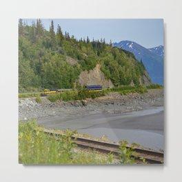 5289 - Alaska Passenger Train Metal Print