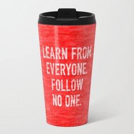 Learn from Everyone Travel Mug