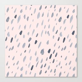 Raindrops Are Falling On My Head Canvas Print