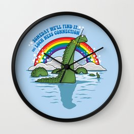 The Lochness Connection Wall Clock