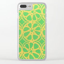 Limeade Clear iPhone Case