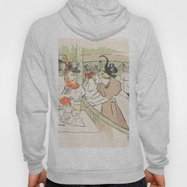 """Henri de Toulouse-Lautrec """"In the Skating Professional Beauty"""" Hoody"""