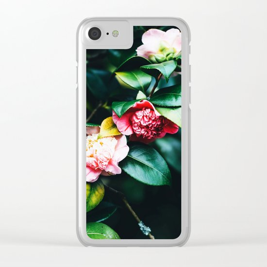 Floral Etudes Clear iPhone Case