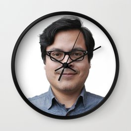 #jaybunnyhug Wall Clock