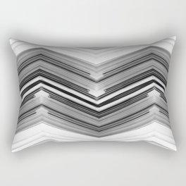 Geometric Wave Rectangular Pillow