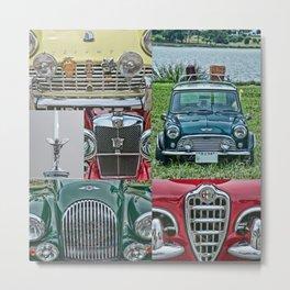European Autos Metal Print