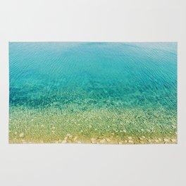 Mediterranean Sea, Italy, Photo Rug