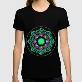 Spring Mandala   Flower Mandhala T-shirt