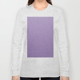Light Purple Long Sleeve T-shirt
