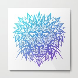 Heart of a Lion Metal Print