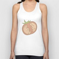 vegetable Tank Tops featuring Vegetable Salad by akaink
