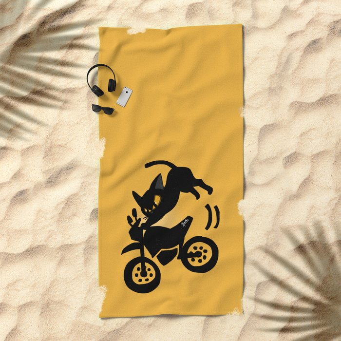 FMX Beach Towel