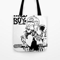 Twig Boy Tote Bag