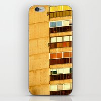building iPhone & iPod Skins featuring Building by Rivière