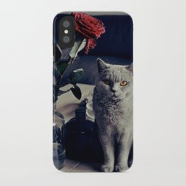 Diesel with rose iPhone Case