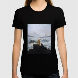 The Wanderer Above the Sea of Doge T-shirt