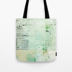above sea level Tote Bag