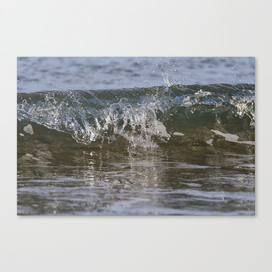 Small wave Canvas Print