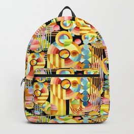 Art Deco Maximalist Backpack