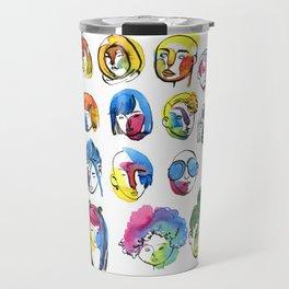 3-color-girls Travel Mug