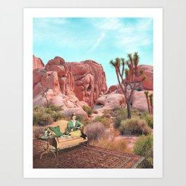 Desert Leisure Art Print