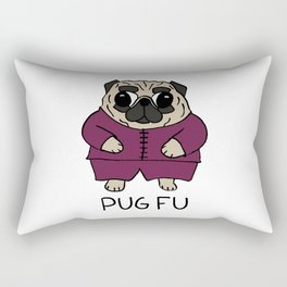 PUG FU Rectangular Pillow