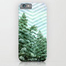 Snowy Chevron iPhone 6s Slim Case
