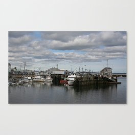 Northeastern Dock Canvas Print