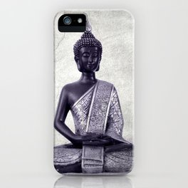 Buddha  - JUSTART © iPhone Case