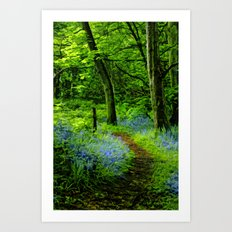 If you go down in the woods today. Art Print
