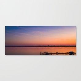 Serenity on Lake Monona Canvas Print