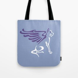Myths & Monsters: Winged dog Tote Bag