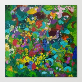 Flower Forest Canvas Print