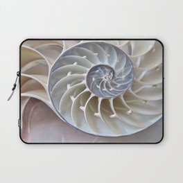 Nautilus Shell Laptop Sleeve