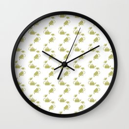 KETTLE PATTERN Wall Clock