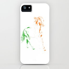Irish Pride Horse iPhone Case