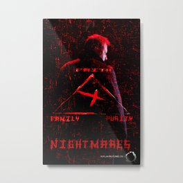 Nightmares movie  poster Metal Print
