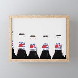 Pepsi  Framed Mini Art Print